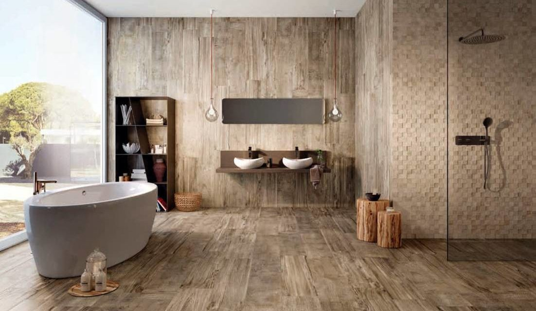 Van een saaie naar een landelijke badkamer - Landelijkwonen.blog