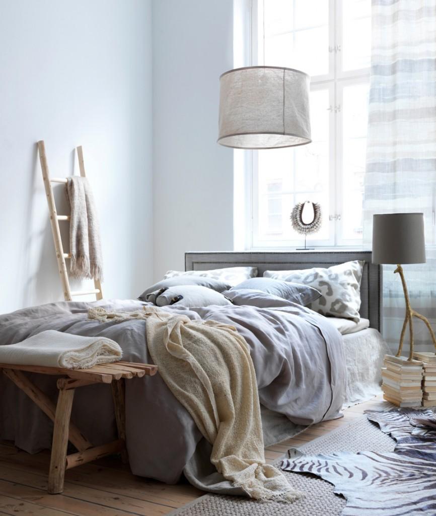 Landelijke slaapkamer zorgt voor een warme sfeer landelijkwonen blog - Slaapkamer houten ...