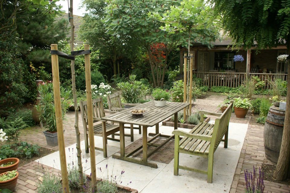 Tuininrichting: Een landelijke tuin
