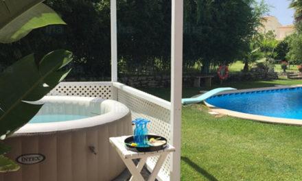 Maak je tuin af met een opzetzwembad